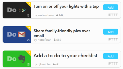ifttt do apps