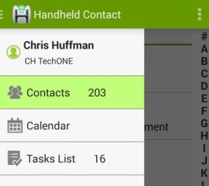 Handheld Contacts for Act! CRM
